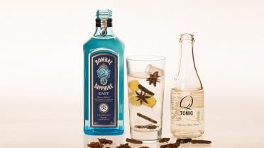 Gin-Tonic: Bombay Saphire East Gin