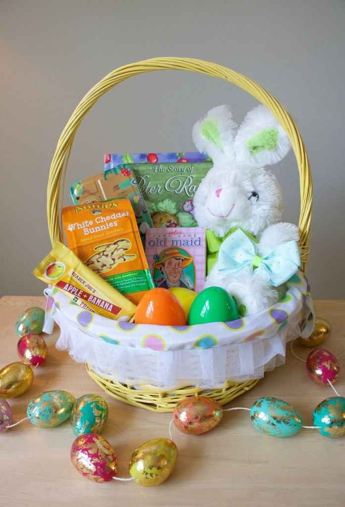 8 best easter basket ideas by sarah makes lunch images on pinterest easter is coming up in a couple of weeks so i am excited to share my junk free easter basket ideas we me patrick and saff celebrate easter negle Gallery