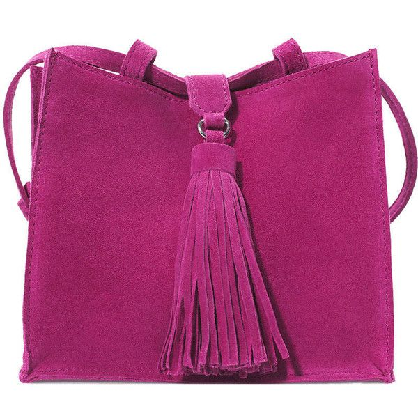 Charting The Best Fringe Accessories of the Season ❤ liked on Polyvore featuring bags