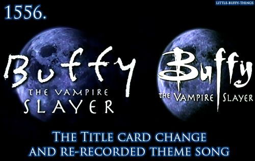 Buffy theme