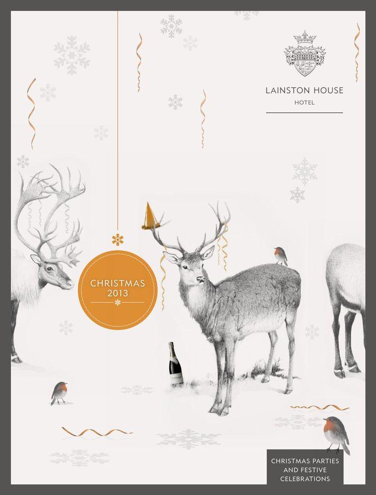 Lainston House Christmas Parties Brochure 2013