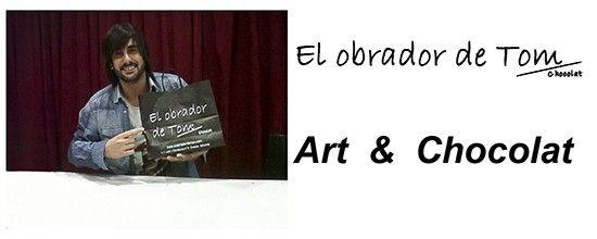 #Melendi Art & Chocolat en el obrador de Tom #arte #chocolate #música