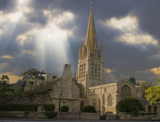 Witney church, Oxfordshire