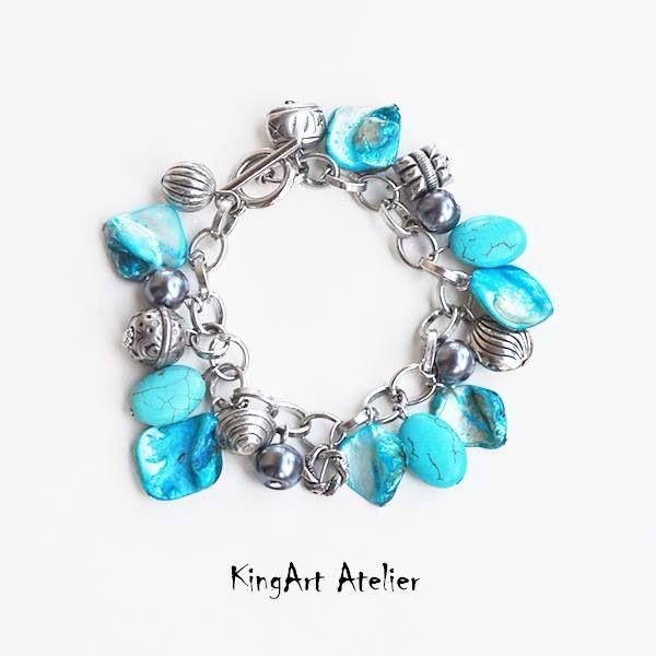 Charm bracelet by KingArt Atelier