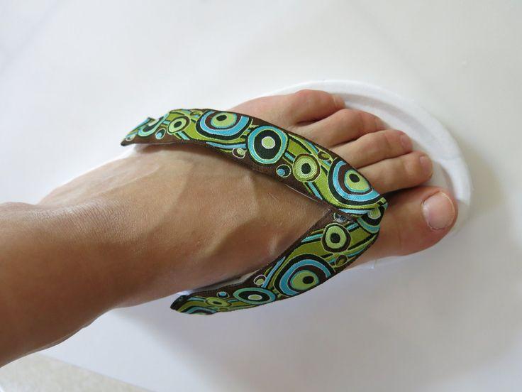 flip-flop diy szövött mintás szalag, ribbon