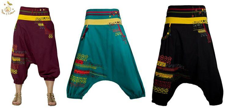ॐ Pantaloni cu modele amerindiene  www.hainehippie.ro/55-noutati Transport gratis la 2 haine si genţi Livrare în 24h! www.facebook.com/hainehippie