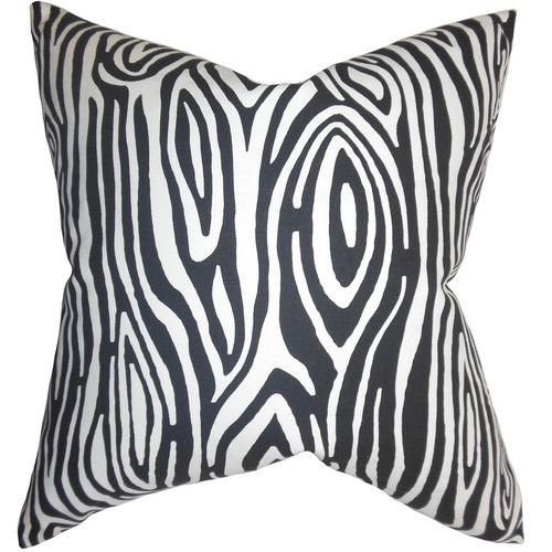 Attractive The Pillow Collection Thirza Swirls Throw Pillow Cover