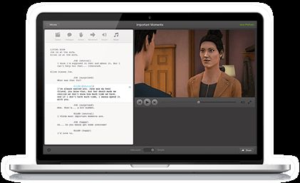 Plotagon application - download and write a screenplay, then design your animated film