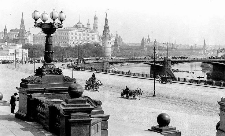 A view of Moscow, 1910