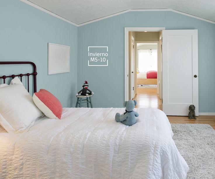 Su cuarto merece un color que la haga soñar y sentirse feliz.
