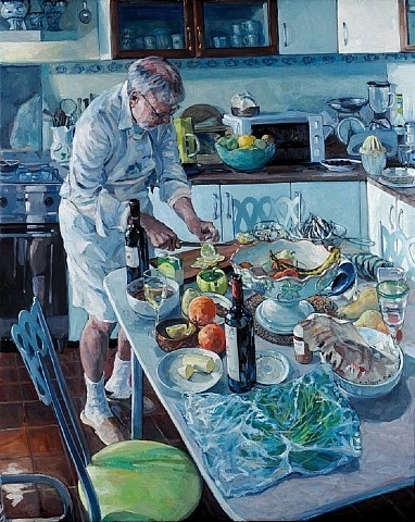 Hector McDonnell, Christopher Preparing Lunch.