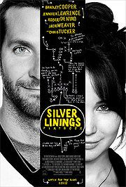 Silver Linings Playbook -- loved it. Jennifer Lawrence and Bradley Cooper are outstanding.  It really was very good!