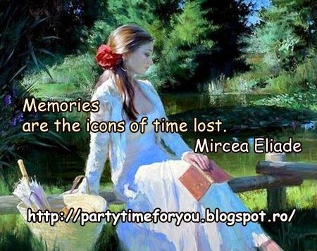 Party time: Memories are the icons of time lost