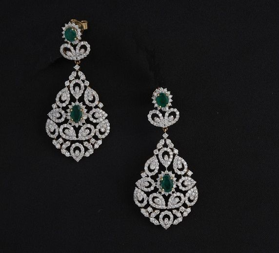 Bridal Diamond Drop Earrings Jewellry Jewels In 2018 Pinterest And Jewelry