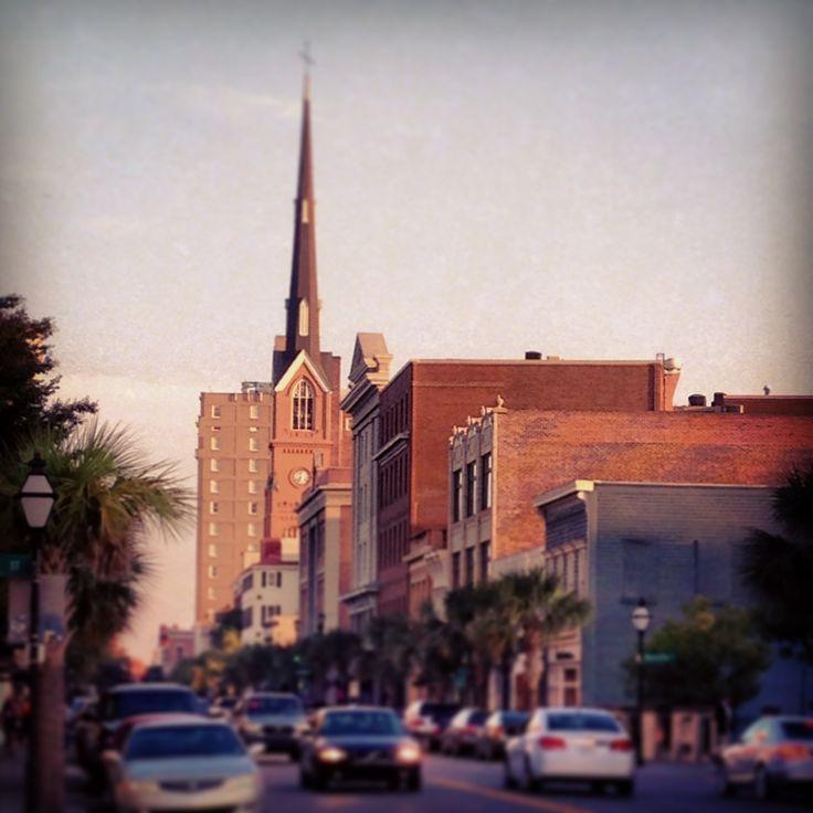 King St Charleston Sc: Charleston SC. Upper King Street