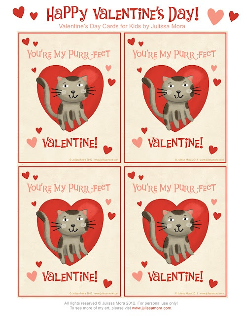 FREE Printable Valentineu0027s Day Cards For Kids!