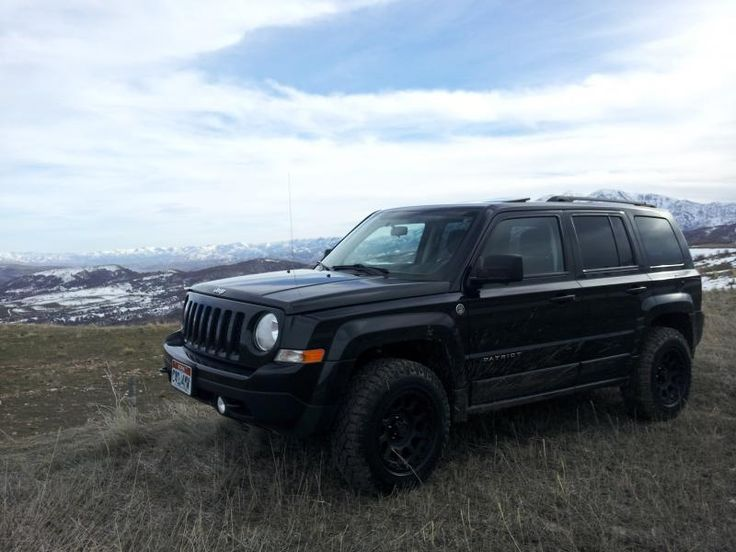 jeep patriot 2014 black. tirewheel combo w rro lift jeep patriot forums 2014 black
