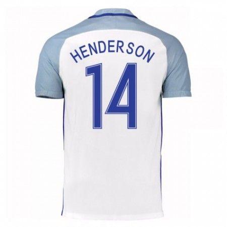 England 2016 Jordan Henderson 14 Hjemmedrakt Kortermet.  http://www.fotballpanett.com/england-2016-jordan-henderson-14-hjemmedrakt-kortermet-1.  #fotballdrakter