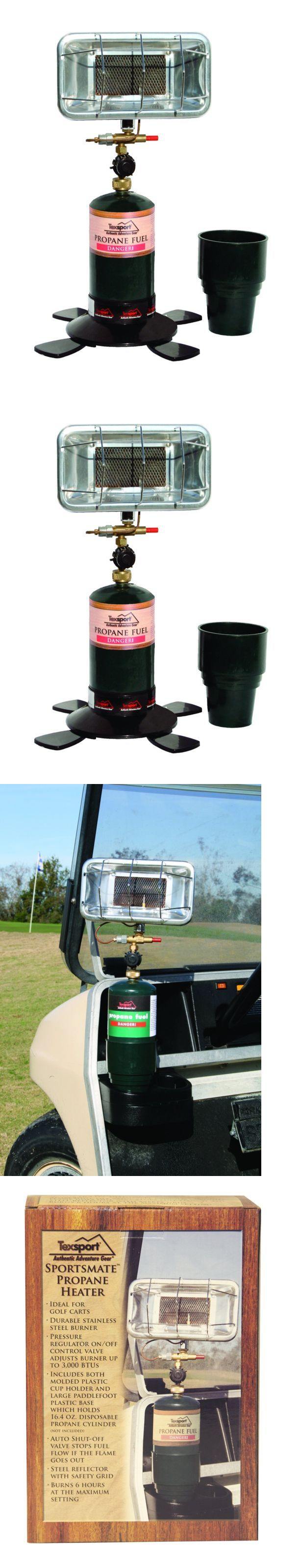 Generators and Heaters 16039: Texsport Portable Propane Heater For Golf Cart Camping Fishing Boat Outdoor BUY IT NOW ONLY: $54.71