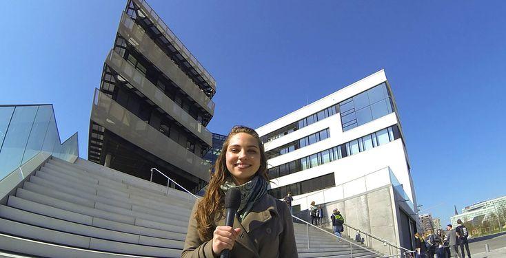 Studieren im Ausland? - Pointer-Reporterin Viktoria hat sich an der HafenCity Universität Hamburg umgehört: Planen die Studierenden ein Auslandsemster oder haben Sie schon eins hinter sich?