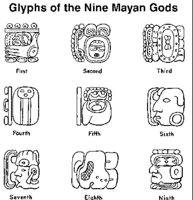 Mayan Glyphs Jerusalem House