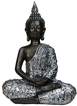 figura decorativa de buda sentado