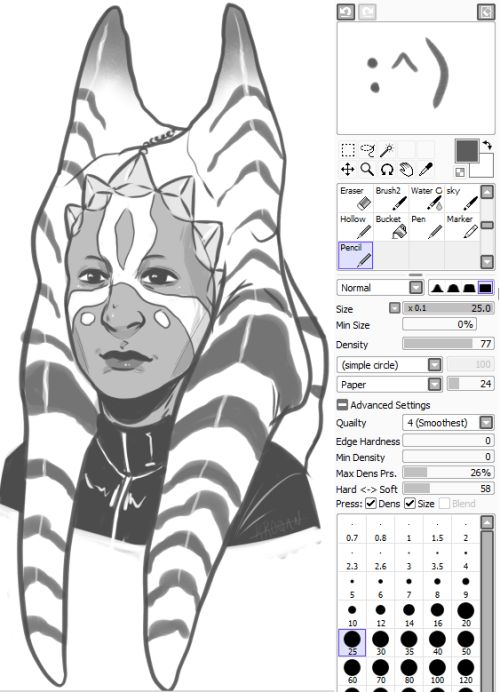 Line Art Sai : Best images about paint tool sai brushes on pinterest