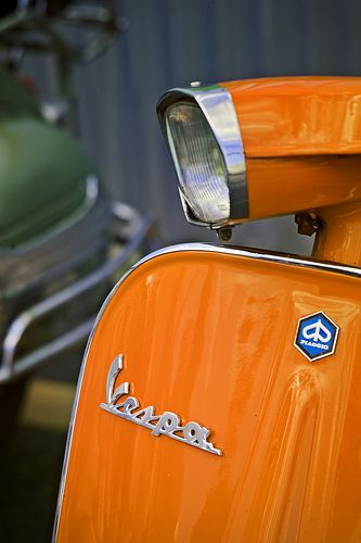 Classic Vespa Motorcycle | Flickr - Photo Sharing!