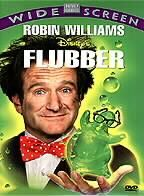 Flubber.  1997, 93 min., rated PG.  Robin William's remake of Absent-Minded Prof.