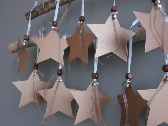 star ornaments!