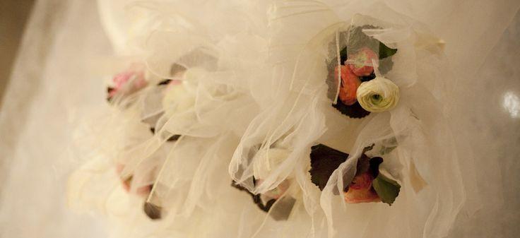 www.italianfelicity.com #weddingdetails #tulle #ranunculus