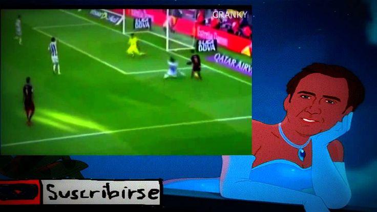 Increíble Leonel Messi termino en Gol You Tube Sport