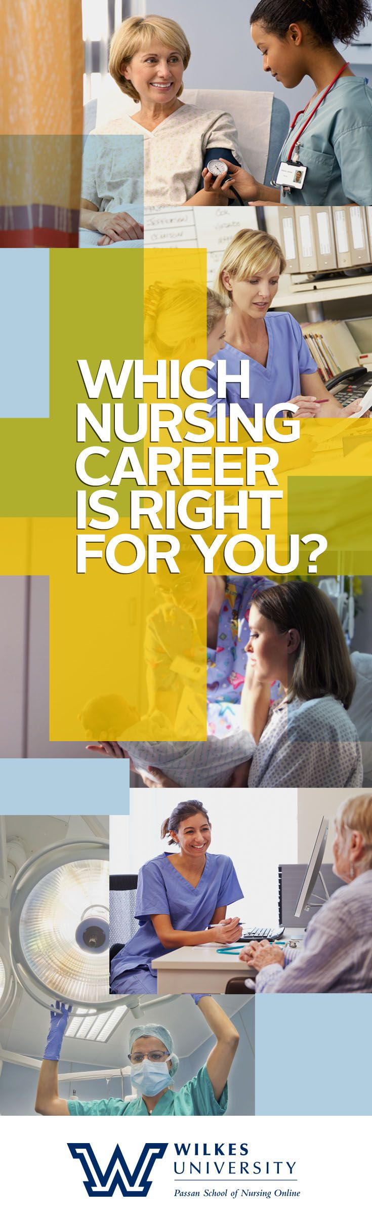 Choose your nursing career path with Wilkes