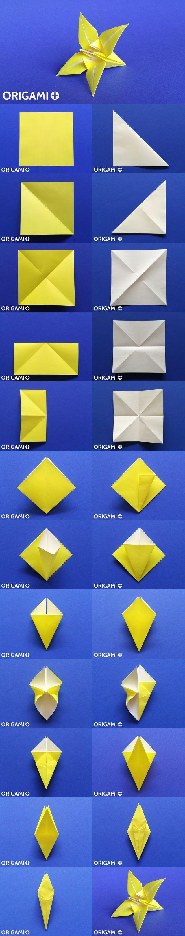 Fleur de lys en origami