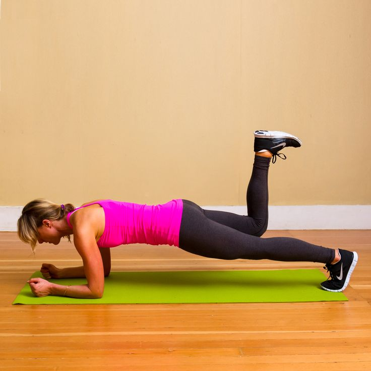 Ok, 20 minutes of this is a little extreme but once through looks like a good core workout! (20 Minutes Closer to Flat Abs: Plank Workout)