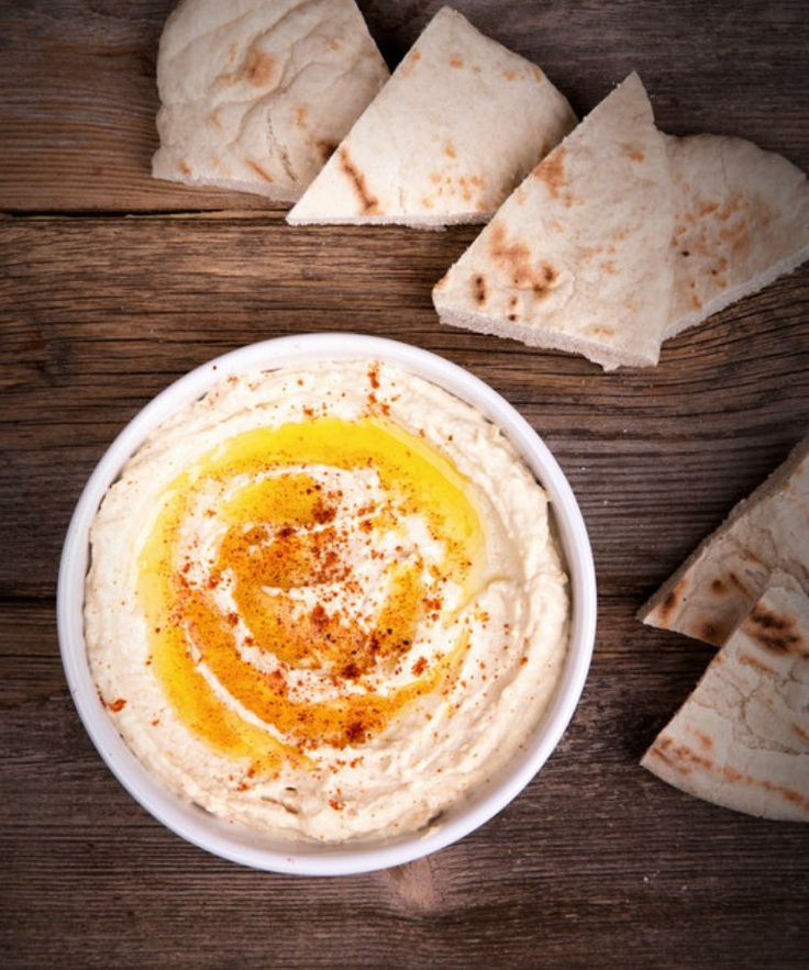 Hummus and pita are popular appetizers at Brazilian parties and events. Try this top saved recipe.