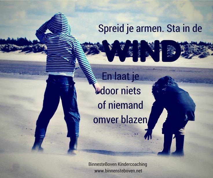 Goed om samen met je kind te doen op een stormachtige dag! BinnensteBoven Kindercoaching
