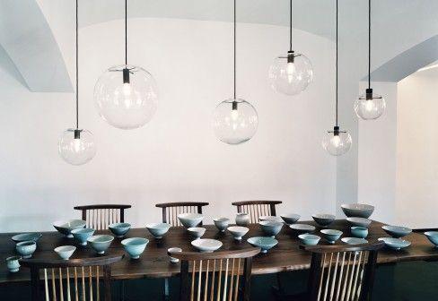 #ClassiCon Selene / #glass #lamp