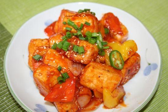 豆腐ガンジョン(두부강정)Recipe