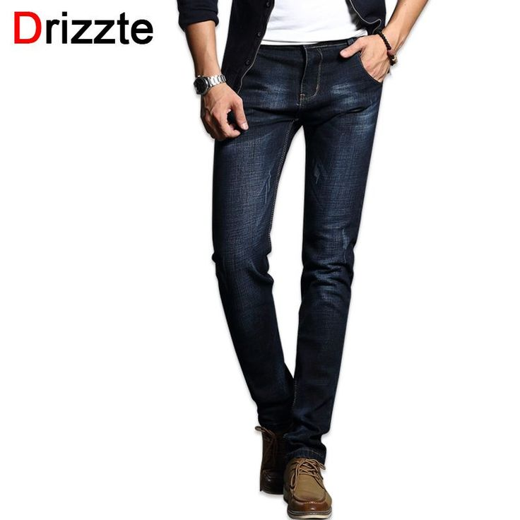 Drizzte Fashion Men's Jeans Comfortable Stretch Blue Denim Men Slim Fit Jeans Size 30 32 34 35 36 38 Pants Jean #Men's jeans http://www.ku-ki-shop.com/shop/mens-jeans/drizzte-fashion-men-s-jeans-comfortable-stretch-blue-denim-men-slim-fit-jeans-size-30-32-34-35-36-38-pants-jean/