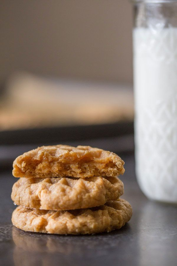 Small Batch Peanut Butter Cookies Small batch, for when PB is basically the only ingredient in your cupboard.  #refinery29 http://www.refinery29.com/2016/11/127714/best-peanut-butter-recipes#slide-29