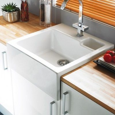Astracast Canterbury 1 5 Bowl Ceramic Kitchen Butler Sink