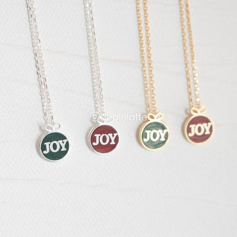Christmas Joy Necklace