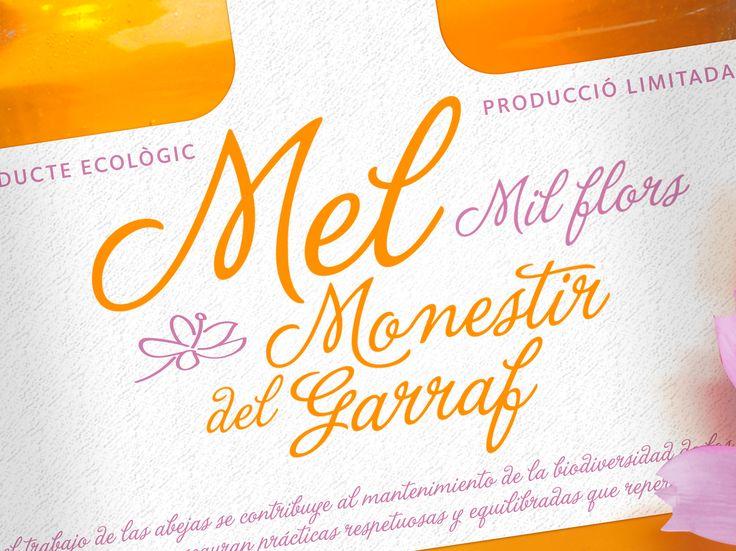 Miel ecológica Monestir del Garraf by Carol García del Busto