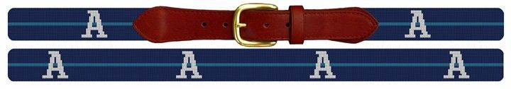 Custom Pinstripe #GroomsmenGift #Needlepoint Belt