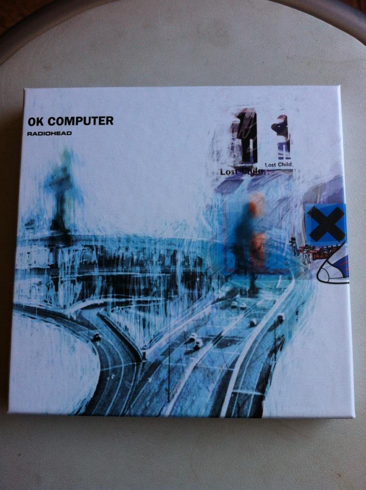 Un auto regalo de cumpleaños para mis 29. La re-edición de lujo de OK Computer. La conseguí en Amazon a un precio bien cómodo. Viene el disco, los lados-b y los videos de los sencillos.