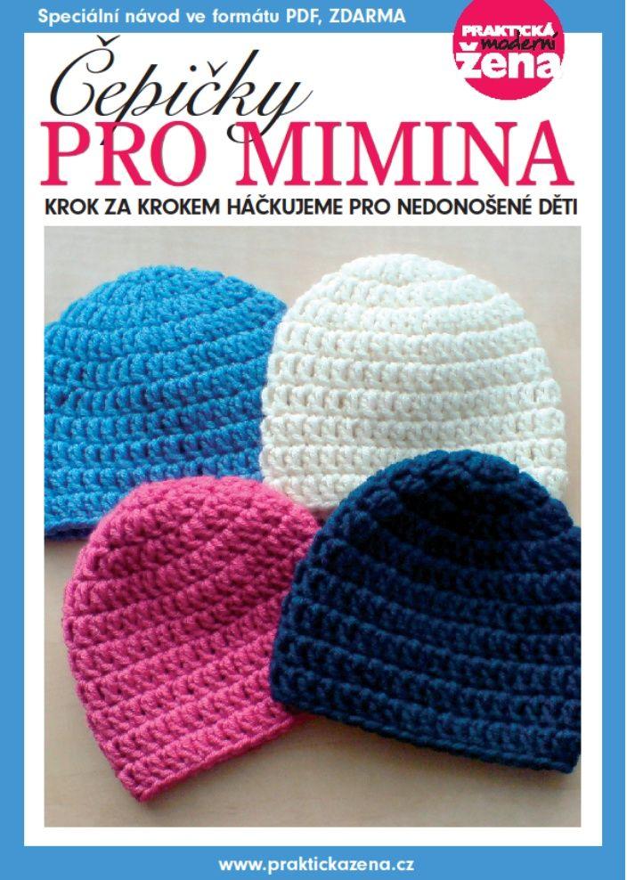 Mámy pro mámy - podpořme předčasně narozené Kulíšky a jejich rodiče: Návod na výrobu háčkovaných čepiček pro nedonošená miminka