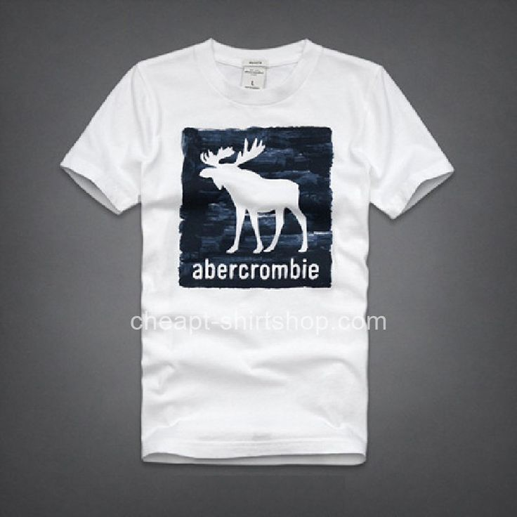 Abercrombie fitch white mens short sleeve a f t shirts for Abercrombie and fitch t shirts online shopping