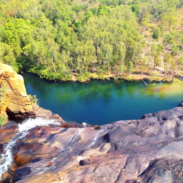Our swimming pool today in kakadu. #seeaustralia #ntcanon.