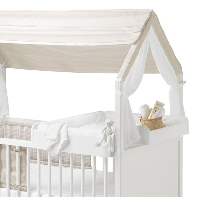 Stokke Home Bed Crib with Roof | ella+elliot | #ellaandelliot | Canada | Stokke Home | Pinterest | Canopy and House  sc 1 st  Pinterest & Stokke Home Bed Crib with Roof | ella+elliot | #ellaandelliot ...